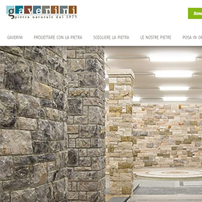 GAVERINI - sito web